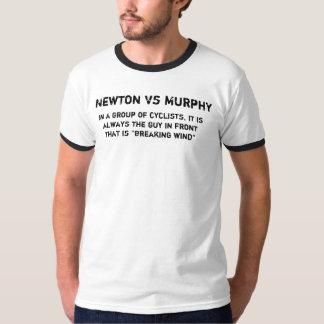 ニュートン対マーフィー Tシャツ