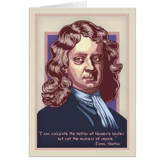 ニュートン-狂気 カード