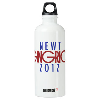 ニュート・ギングリッチ2012年 ウォーターボトル