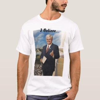 ニュート・ギングリッチ: 私は…信じます Tシャツ