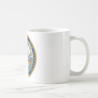 ニューハンプシャーのシール コーヒーマグカップ