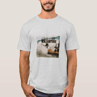 ニューハンプシャーのスノーボードでだけ Tシャツ