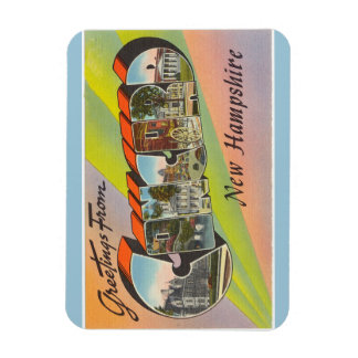 ニューハンプシャーの一致の磁石 マグネット