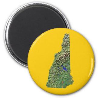 ニューハンプシャーの地図の磁石 マグネット