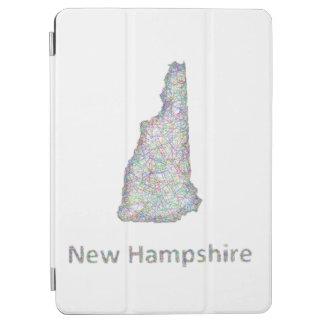 ニューハンプシャーの地図 iPad AIR カバー
