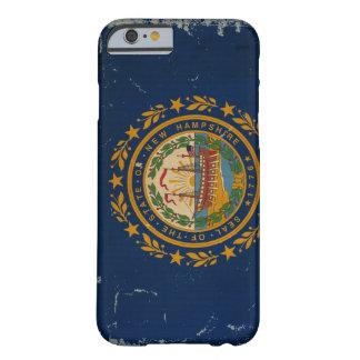 ニューハンプシャーの州の旗のヴィンテージ BARELY THERE iPhone 6 ケース