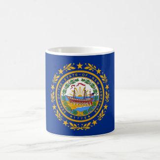 ニューハンプシャーの州の旗統一されたなアメリカ共和国s コーヒーマグカップ