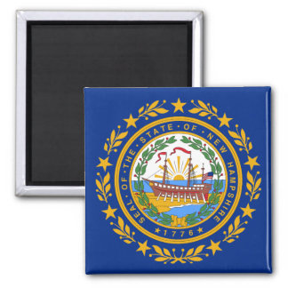 ニューハンプシャーの州の旗 マグネット