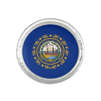 ニューハンプシャーの州の旗 リング