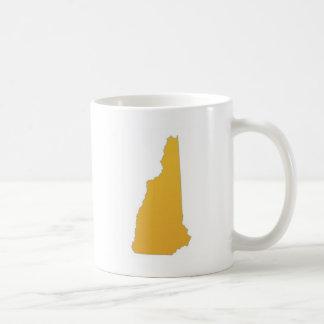 ニューハンプシャーの州 コーヒーマグカップ
