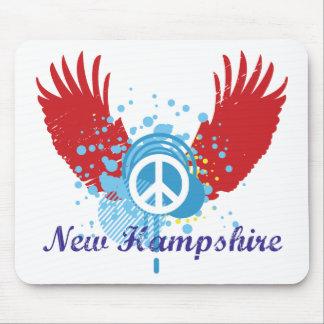 ニューハンプシャーの平和 マウスパッド