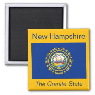ニューハンプシャーの旗の磁石 マグネット