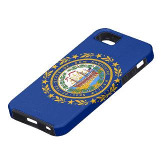 ニューハンプシャーの旗のiPhone 5の場合 iPhone SE/5/5s ケース