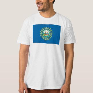 ニューハンプシャーの旗- Tシャツ