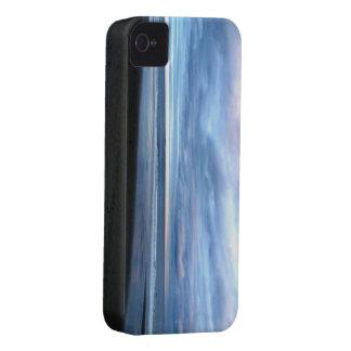 ニューハンプシャーの海岸の日没は青いです Case-Mate iPhone 4 ケース