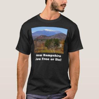 ニューハンプシャーの生きている自由またはTシャツ死にます Tシャツ