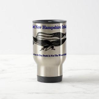 ニューハンプシャーの第3タンブラー トラベルマグ