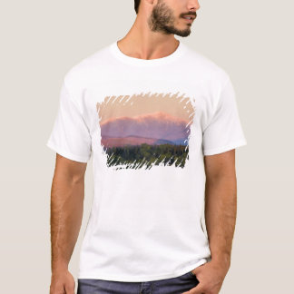 ニューハンプシャーの薄暗がりおよび山ワシントン州 Tシャツ