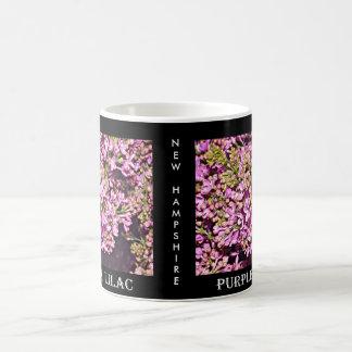 ニューハンプシャーの薄紫(紫色) コーヒーマグカップ