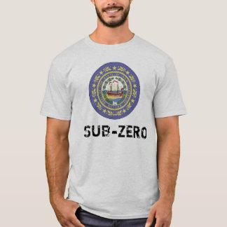 ニューハンプシャーの零下ワイシャツ Tシャツ