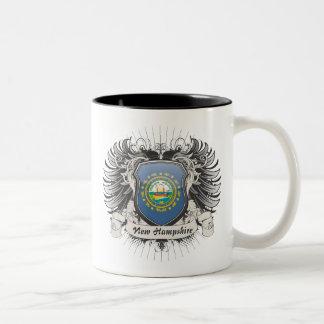 ニューハンプシャーの頂上 ツートーンマグカップ