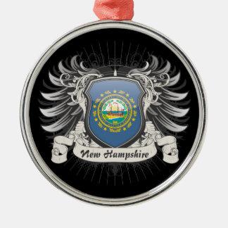 ニューハンプシャーの頂上 メタルオーナメント
