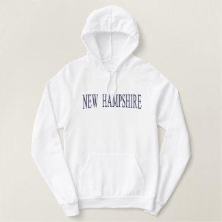 ニューハンプシャーはスエットシャツを刺繍しました 刺繍入りパーカ