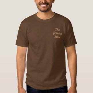ニューハンプシャーはワイシャツを刺繍しました 刺繍入りTシャツ