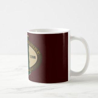 ニューハンプシャー米国東部標準時刻1788年 コーヒーマグカップ