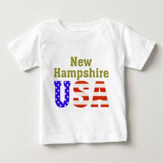 ニューハンプシャー米国! ベビーTシャツ