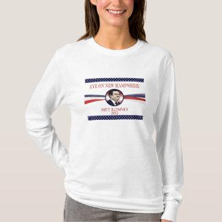 ニューハンプシャー2012年のRomneyの目 Tシャツ