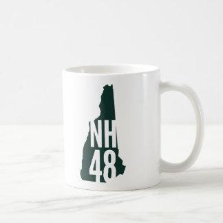 ニューハンプシャー4000のフッターのコーヒー・マグ コーヒーマグカップ