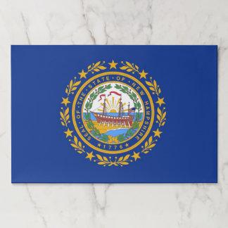 ニューハンプシャー、米国の旗が付いているTearawayのペーパーパッド ペーパーパッド