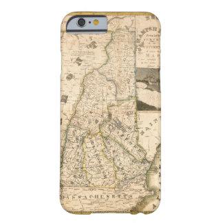ニューハンプシャー(1817年)の州の地図 BARELY THERE iPhone 6 ケース