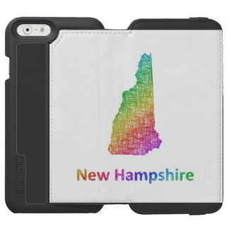 ニューハンプシャー iPhone 6/6Sウォレットケース