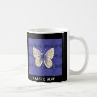ニューハンプシャーKarnerの青の蝶 コーヒーマグカップ