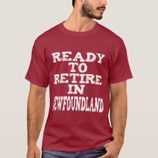 ニューファウンドランドで退職させて下さい Tシャツ