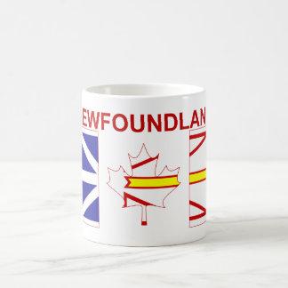 ニューファウンドランドのコーヒー・マグ コーヒーマグカップ