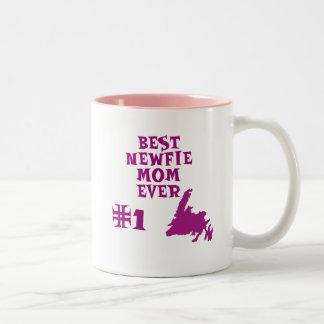 ニューファウンドランドのマグ ツートーンマグカップ