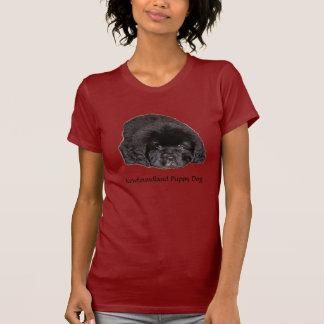 ニューファウンドランドの小犬 Tシャツ