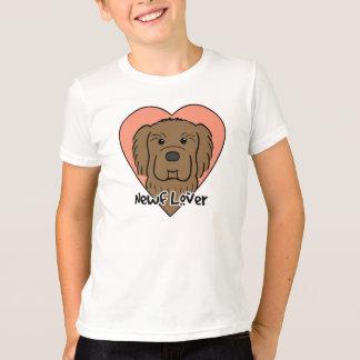 ニューファウンドランドの恋人 Tシャツ