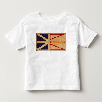 ニューファウンドランドの旗 トドラーTシャツ