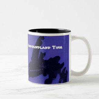 ニューファウンドランドの時間 ツートーンマグカップ