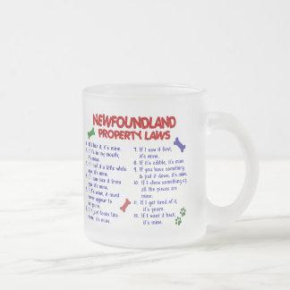 ニューファウンドランドの特性の法律2 フロストグラスマグカップ