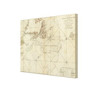 ニューファウンドランドの銀行の図表 キャンバスプリント