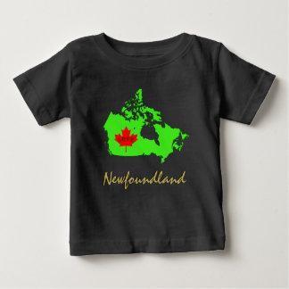 ニューファウンドランドは愛カナダの地域をカスタマイズ ベビーTシャツ