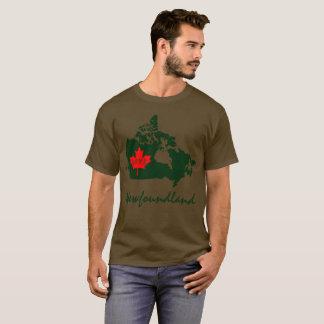 ニューファウンドランドは愛カナダの地域をカスタマイズ Tシャツ