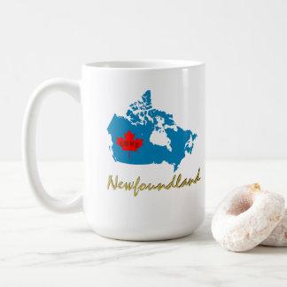 ニューファウンドランドカナダ日のコーヒーティーカップのマグ コーヒーマグカップ