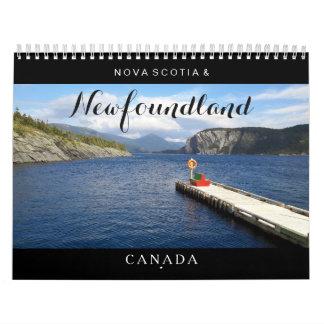 ニューファウンドランドノバスコシアカナダのカレンダー カレンダー