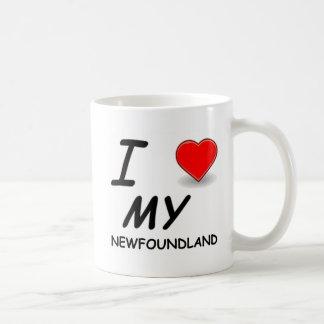 ニューファウンドランド愛 コーヒーマグカップ